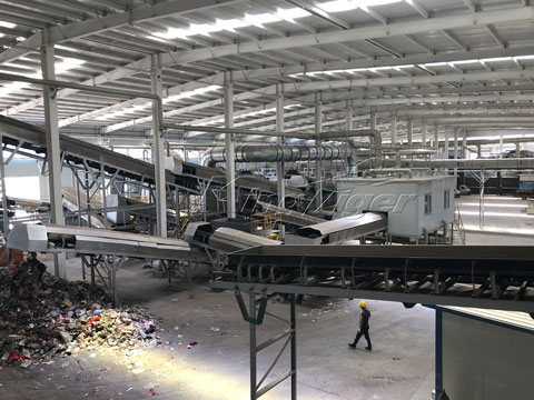 Automatic Waste Recycling Plant