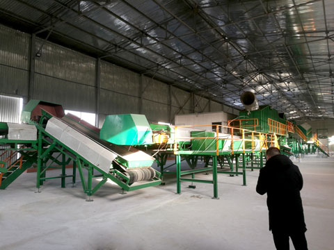 waste sorting plant