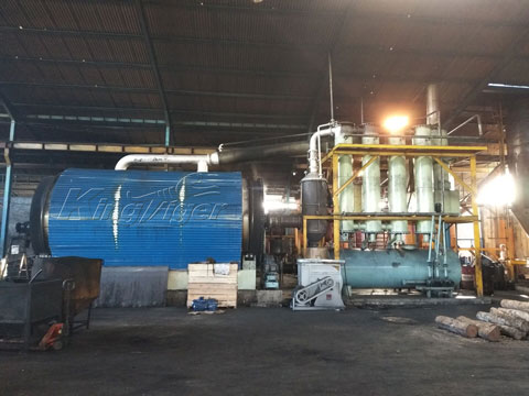 Rubber Pyrolysis Plants